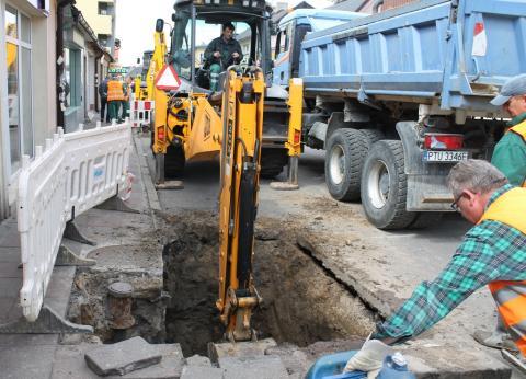 Modernizacja instalacji podziemnej na ul. Kaliskiej-2